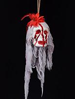 Хэллоуин преследует дом украшения бар реквизит пузырь моделирование кровотечение кладбище террористический призрак голова платье вверх