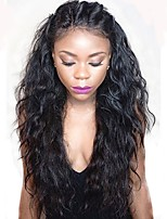 Hot 180% Density Brazilian 360 Lace Front Human Hair Lace Wigs with Baby Hair 8''-22'' 360 Lace Wigs Natural Hairline Water Wave 100% Virgin Hair Wigs