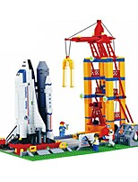 Building Blocks For Gift  Building Blocks Aircraft Plastics All Ages 6 Years Old and Above Toys PCS584