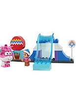 Building Blocks For Gift  Building Blocks Castle ABS Wrought Iron 8 to 13 Years 3-6 years old Toys