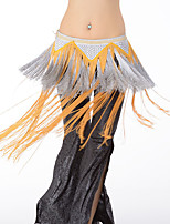 Belly Dance Hip Scarves Women's Performance Rayon Tassel(s) 1 Piece Hip Scarf