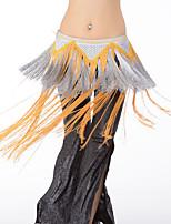 Danza del Vientre Pañuelos de Cadera para Danza del Vientre Mujer Actuación Rayón 1 PiezaBufanda Hip y cinta de Danza del vientre no