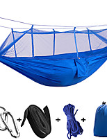 Camping Hammock with Mosquito Net Collapsible Ultra Light (UL) Nylon for Camping Camping / Hiking / Caving Outdoor