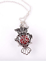 Women's Pendant Necklaces Owl Alloy Fashion Jewelry For Wedding Party Birthday Graduation Gift Daily