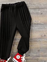Pantaloni Da ragazza Tinta unita Primavera Autunno