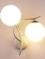 AC 220-240 AC 110-130 40 E26/E27 Модерн Серебряный Особенность for Светодиодная лампа,Рассеянный настенный светильник