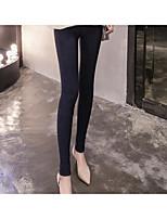 Femme Solide Couleur Pleine Legging