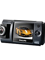 Philips CVR300/93 1080p 100 Angle Car DVR  2.0 Inch Screen Dash Cam Night Vision
