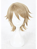 14inch Short Flaxen A3 Kazunari Miyoshi Wig Synthetic Anime Cosplay Hair Wig CS-336F