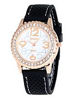 Жен. Спортивные часы Армейские часы Модные часы Наручные часы Уникальный творческий часы Повседневные часы Кварцевый силиконовый Группа