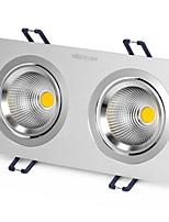 1Pcs 6W Recessed LED Spot Light Celing Light Yellow/Warm White/White AC220V Size Hole 170mm Beam Angle 25