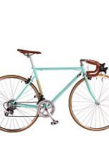 Bicicleta de Montaña Ciclismo 14 Velocidad 26 pulgadas/700CC Shimano Freno en V Sin Amortiguador Cuadro de Acero Extraíble aluminio Acero
