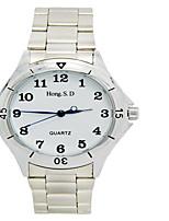 Жен. Модные часы Кварцевый Защита от влаги сплав Группа Белый