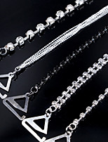 Кристаллы Свадебные украшения-2 предмета Свадьба Для вечеринок Особые случаи Вечеринка / ужин