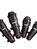 Scoyco K10H10-2 Genouillère Équipement de protection moto Unisexe Adultes PVC Polyester Résistant aux chocs Réglable