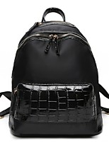 Women Bags All Seasons Oxford Cloth Backpack with for Casual Black