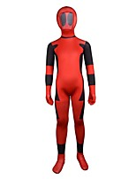 Cosplay Costumes Super Heroes Movie Cosplay Leotard/Onesie Zentai Halloween Christmas Carnival Children's Day Kids Lycra Spandex