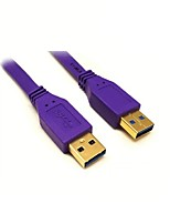 USB 3.0 Câble, USB 3.0 to USB 3.0 Câble Male - Male 1.8m (6Ft)