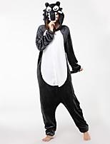 kigurumi Pyjamas Loup Collant/Combinaison Chaussures Fête / Célébration Pyjamas Animale Halloween Mode Brodée FlanelleCostumes de Cosplay
