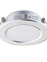 1Pc 3W Led Downlight Celing Light Warm White AC220V Size Hole 75mm 210LM