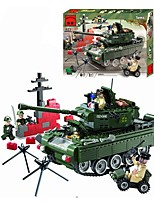 Building Blocks For Gift  Building Blocks Tank Plastics All Ages 14 Years & Up Toys PCS