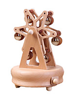 Music Box Windmill Wooden