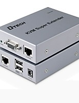 VGA USB Type B Interrupteur, VGA USB Type B to VGA USB 2.0 RJ45 Interrupteur Femelle - Femelle