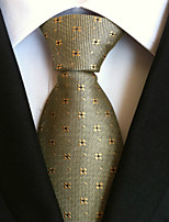 Men's Polyster Neck TieNeckwear Dots All Seasons W074