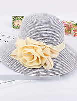 Women's Fashion  Handmade Flowers Staw Sun Hat & Hats