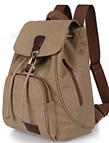 Women Bags All Seasons Canvas Backpack with for Casual Outdoor Traveling Blue Black Coffee