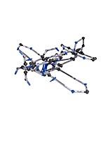 Kit fai-da-te Modello di visualizzazione Costruzioni Gioco educativo per il regalo Costruzioni Velivolo Elicottero Con animalePlastica