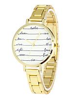 Mujer Reloj Deportivo Reloj Militar Reloj de Moda Reloj creativo único Reloj Casual Reloj de Pulsera Cuarzo Acero Inoxidable BandaCosecha
