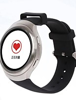 Smart WatchEtanche Longue Veille Calories brulées Pédomètres Commande vocale Enregistrement de l'activité Sportif Ecran tactile Suivi de
