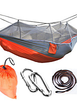 Camping Hammock with Mosquito Net Anti-Mosquito Collapsible Nylon for Camping Camping / Hiking / Caving Outdoor