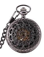 Муж. Карманные часы С автоподзаводом Фосфоресцирующий сплав Группа Heart Shape Черный