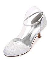Femme Chaussures de mariage Confort Mary Jane D'Orsay & Deux Pièces Escarpin Basique Satin Printemps EtéMariage Habillé Soirée &