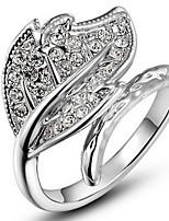 Жен. Классические кольца Кольца на вторую фалангу СтразыБазовый дизайн Мода По заказу покупателя Хип-хоп Rock Симпатичные Стиль Pоскошные