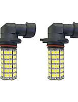 4W 9005 9006 H8 H11 120SMD2835  Headlight/Foglight Lamp for Car White DC12V 2Pcs
