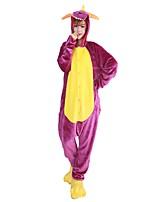kigurumi Pyjamas Dragon Collant/Combinaison Chaussures Fête / Célébration Pyjamas Animale Halloween Mode Brodée FlanelleCostumes de