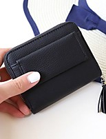 Ms brief paragraph wallet the new buckles zero wallet RFID security magnetically contracted twenty percent tassel wallet
