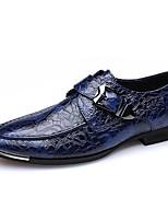 Для мужчин Мокасины и Свитер Удобная обувь Формальная обувь Весна Лето Осень Зима Наппа Leather Кожа Свадьба Повседневные На низком