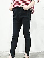 Pantaloni Da ragazza Rayon Tinta unita Estate