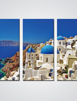 Canvas Prints  Greece Landscape Painting Modern Canvas Art for Wall Decoration Ready to Hang
