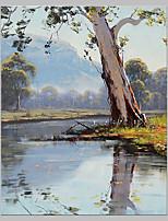 Peint à la main Paysage Artistique Inspiré de la nature Extérieur Un Panneau Toile Peinture à l'huile Hang-peint For Décoration