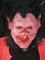 Хэллоуин ужас монстр дьявол маска реалистичный обезьяна мужской оголовье бальный зал смешной шоу cos