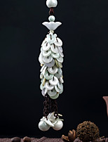 DIY Automotive Pendants blessing peace handmade exquisite tassel fashion wealthLucky Car Pendant & Ornaments Emerald