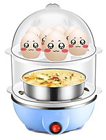 PA-618 Egg Cooker Double Eggboilers Multifunction Mini Style Lightweight Detachable 220V Automatic Power Off