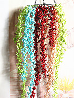 The Hotel Flowers Artificial Flowers Artificial Flowers The Lover Tears High Simulation Plant Wall Hanging Ye Rattan Foam Lover Tears