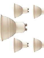 7W Spot LED 6 SMD 3030 580 lm Blanc Chaud Blanc V 5 pièces GU10