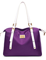Women Bags All Seasons Nylon Tote with for Event/Party Casual Formal Outdoor Office & Career Purple